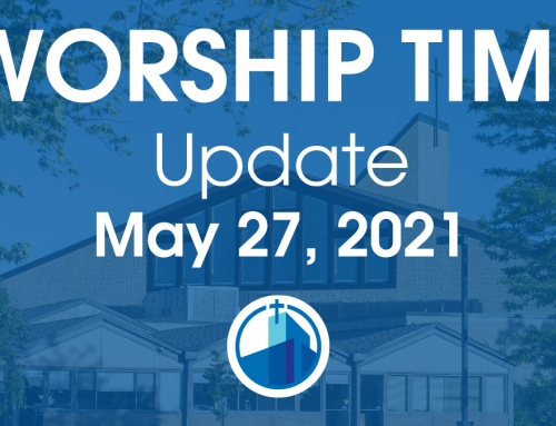 New Worship Time Begins This Sunday